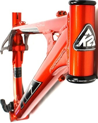 High Quality K2 Lithium 40 Small Full Suspension Mountain Bike Frame
