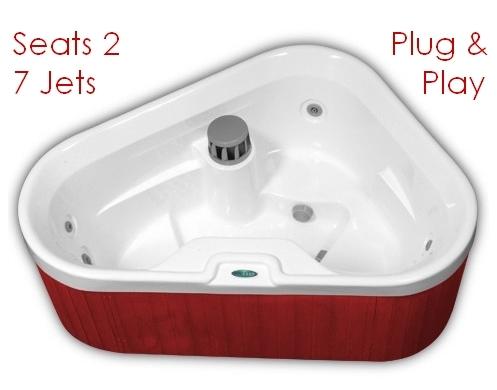 corner hot tub spa. Alternative Views  LG 2 Person Corner Spa