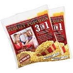Perfect Popcorn kits w/ 12 Individual 8oz. 3 in 1 Popcorn, Oil & Seasoning Pouches
