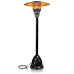 Black Garden Radiance Natural Gas Patio Heater