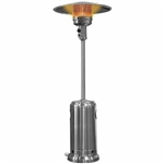 Stainless Steel Garden Radiance Patio Heater w/ Wheels