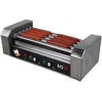 High Quality Big 12 Stainless Steel Hotdog Roller w/ Drip Tray