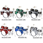 Brand New Cecilio 5-Piece Junior Drum Set