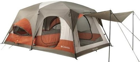 Brand New 10 Person Cougar Flats II Camping Tent