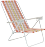 Brand New Orange Folding Beach Chair