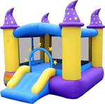 Wizard Magic Bouncer Bouncy House With Blower