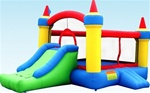 Mega Castle Bouncer Bouncy House with Slide & Blower