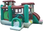 Clubhouse Climber Bouncer Bouncy House With Blower