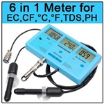 Multifunction 6-in-1 Water Tester