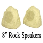 "Stereo Yard 8"" Rock Speakers"