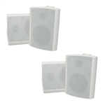 Indoor / Outdoor White Speakers Value Pack