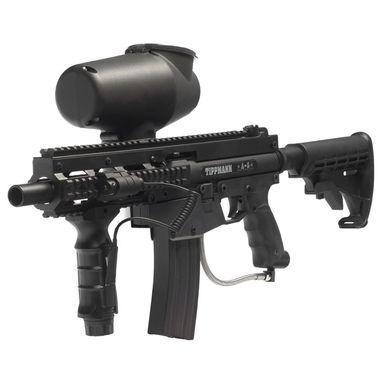 Complete Tippmann A5 Centurion Paintball Gun Marker Set