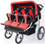 New Triple (3) Trio Baby Infant Jogger Stroller Triplette Outdoor Roller Chair