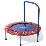 "High Quality 36"" Kids Mini Trampoline with Handrail"
