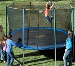 High Quality 12 Foot Outdoor Trampoline Set