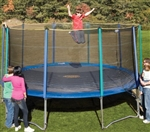 High Quality 15 Foot Outdoor Trampoline Set