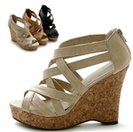 Wedge Platform Heel Sandals