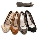 Ballet Flat Loafers w/Cute Ribbons