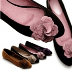 Ballet Flat Loafers Comfy Cute Flower Accent