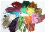 High Quality Glossy Feather Hair Extensions - 100 pieces