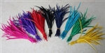 High Quality Spiky Feather Hair Extensions - 100 pieces