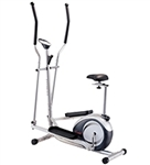 2 In 1 Elliptical Trainer and Exercise Bike