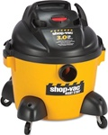 High Quality Yellow & Black Shop Vac Right Stuff Wet/Dry Vacuum