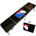 High Quality 8ft Black World Series of Beer Pong Table