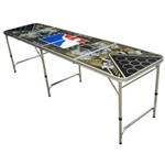 High Quality 8ft Hydro74 World Series of Beer Pong Table