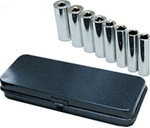 "High Quality HDC 3/8"" Drive 9 Piece SAE Deep Well Socket Set"
