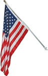 High Quality Deck Mount Telescoping Flag Pole Kit