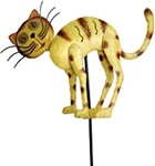 High Quality Summer Cat Garden Stake Set