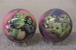 Shrek Baby Plaid Bowling Ball