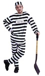 Convict Costume Halloween Costume