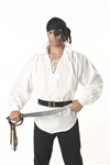 Buccaneer White Adult Halloween Costume