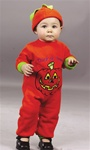 Pumpkin Jumpsuit Halloween Costume