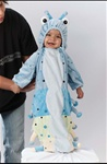 Caterpillar Blue Halloween Costume