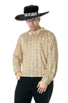 Pimp Shirt Gold Halloween Costume