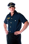 Pilot Shirt Mens Halloween Costume