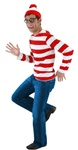 Where's Waldo Kit Halloween Costume