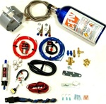 Brand New Nitrous Oxide Dual Carb Snowmobile Wet Nitrous Kit