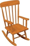 Brand New Spindle Rocking Chair