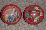 Superman Red Collage Bowling Ball
