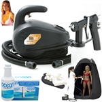 Complete Portable Professional Tented Sunless Spray Tan Mist System