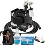 Complete Professional Tented Airbrush Sunless Spray Tan System