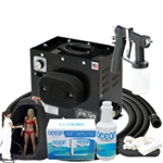 Complete Professional Tented Sunless Tanning Spray Tan System