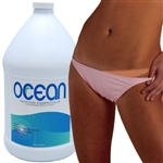 Professional Medium Bronzer Sunless Tanning Solution for Airbrush & Spray Tan - 1 Gallon