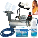 Professional Sunless Tanning Spray Tan Airbrush System