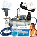 Professional Sunless Spray Tan Airbrush System