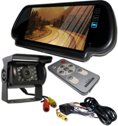 9'' Wireless Ultimate RV Backup Camera System with Double CCD RV Camera